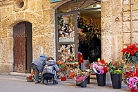 Florist, Torredembarra, catalonia, Spain.