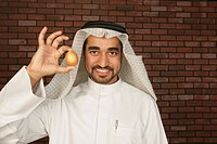 Arab Man with a golden egg