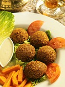 Arabic Food _ falafel