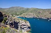 Bay of Cala Joncols, Cap de Creus, Costa Brava, Spain