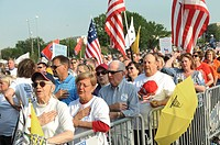 Tea Party demonstrators in Washington, DC