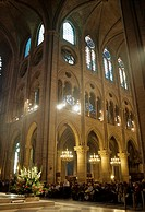 Paris, France- Monumental Religious Architecture Catholic Church Notre Dame Cathedral