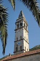 Montenegro, Kotor Bay, Perast  St Nicholas Church