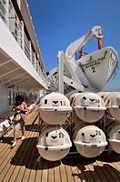 Cruise ship, life boat