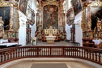 St. Walburg monastery, Benedictine abbey of Eichstaett, Diocese of Eichstaett, Eichstaett, Altmuehltal valley, Upper Bavaria, Bavaria, Germany, Europe
