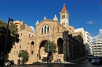Maronite church in downtown Beirut, Beyrouth, Lebanon, Middle East, West Asia