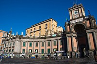 Piazza Dante square Naples Campania Italy Europe