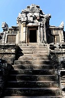 Prasat, Ta Keo temple, Angkor, UNESCO World Heritage Site, Siem Reap, Cambodia, Southeast Asia, Asia
