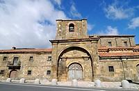 Colegiata de Arbas church, Arbas del Puerto, Villamanin, Castilla Leon province, Spain, Europe