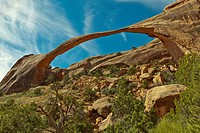 Landscape Arch panorama, Arches National Park