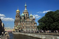 Church of the Savior on Spilled Blood, St. Petersburg, Russia, Europe