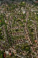 Aerial photo, Brassert colliery settlement, Marl, Ruhrgebiet region, North Rhine-Westphalia, Germany, Europe