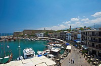 North Cyprus, Cyprus, Europe, harbour, port, Girne, Keryneia, boats, sea