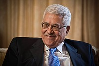 Mahmoud Abbas, chairman of the Palestine Liberation Organization PLO, Berlin, Germany, Europe