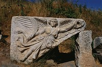 Relief of the goddess Nike, Ephesos, Turkey, Europe