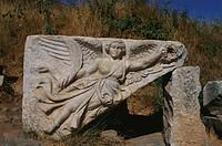Relief of the goddess Nike, Ephesos, Turkey, Europe