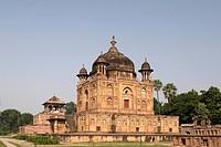 Mother and Sisters Mausoleum , Khusarus Bagh at Allahabad Uttar Pradesh , India