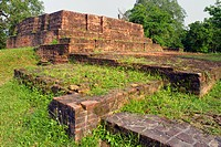 Buddhist Site , Sravasti , Uttar Pradesh , India