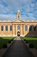 Queen's College, Oxford University, England