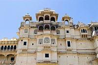 City palace, Udaipur, Rajasthan, India, Asia