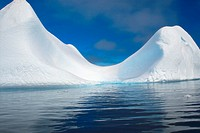 Sculpted Icebergs in Antarctica