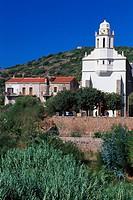Church, Eglise Greque, Corsica, France