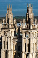 All Souls College seen from above  Oxford, UK