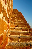All way up of Lakhpath fort , Kutch , Gujarat , India
