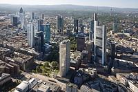 Center, bank quarter, Frankfurt am Main, Hesse, Germany
