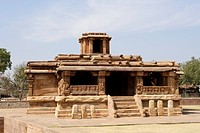 Ladkhan temple , Aihole , early western Chalukya , District Bagalkot , Karnataka , India