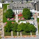 Aerial view, Landesgartenschau Country Garden Exhibition Hemer, Maerkischer Kreis district, Sauerland region, North Rhine-Westphalia, Germany, Europe