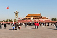 The Tiananmen, also known as Gate of Heavenly Peace, Tiananmen Square, Beijing, China
