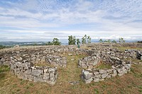 Cit&#226;nia de Sanfins  A Castro Village fortified Celtic-Iberian pre-historic settlement in Pa&#231;os de Ferreira, oPorto district, Portugal