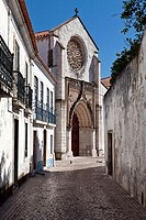 "Santo Agostinho da Graça church and ""Casa do Brasil"", city of Santarém, Portugal  Mendicant/Flamboyant Gothic Architecture"