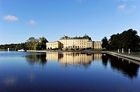 Drottningholms castle in Sweden. The home of the royal family