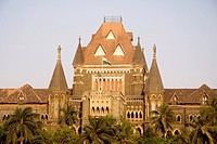 Mumbai High court heritage British time building , Bombay Mumbai , Maharashtra , India
