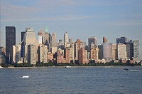 Skyline of Manhattan, New York City, North America, USA