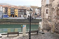 Street of Llanes, Asturias, Spain