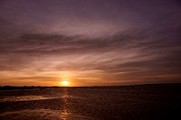 People, man, sunset, Lençois, Atins, Maranhão, Brazil