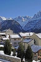 Soglio, Bregaglia, Grisons, Switzerland, Europe