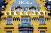 Grand Hotel Europa, Prague, Czech Republic, Europe