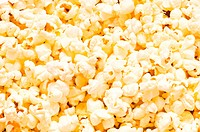Close up of background _ popcorn kernels
