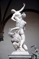 Raub der Sabinerinnen, Statues Italy Florence