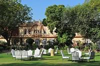 India, Rajasthan, Rohet, Rohet Garh Hotel.