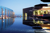 Portugal, Madeira, Funchal, Hotel design The Vine, architect Ricardo Boffil from Spainl, designer Nini Andrade from New York and Madeira, opened in 20...
