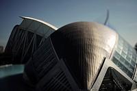 City of Arts and Sciences by Santiago Calatrava  Valencia  Spain