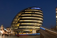 City Hall, home to Mayor of London, London Assembly and Greater London Authority GLA, London, England