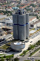 BMW Tower, Munich, Bavaria, Germany, Europe