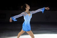 Ice dance - ISU European Championships - Bern Switzerland  Final Day Gala  Winner of the ladies competition Sarah Meier SUI