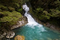 Falls Creak waterfall, New Zealand (thumbnail)
